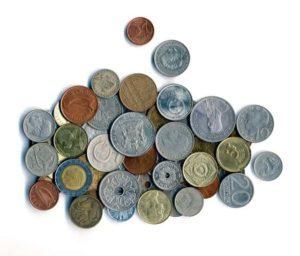 Zahlreiche Währungen sind für den Tausch verfügbar