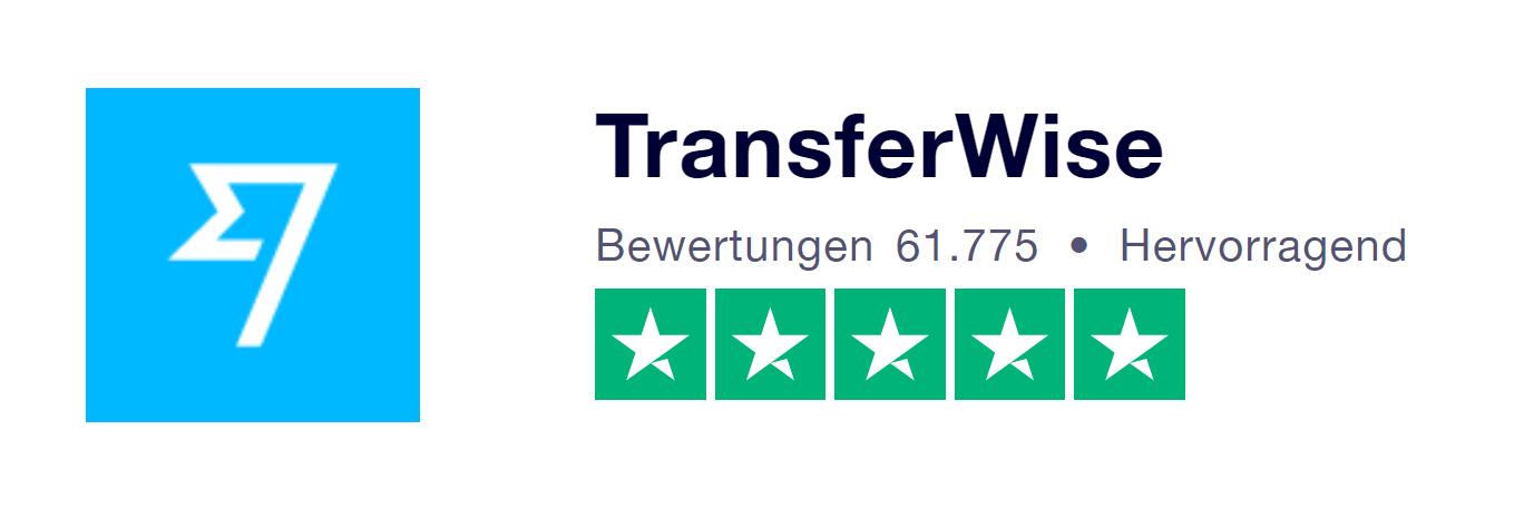 Trustpilot Erfahrungen von TransferWise